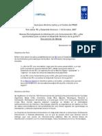 Informe Final Foro Tic Dh 2007