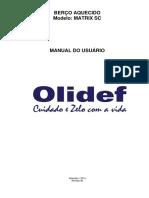 Berço Aquecido Matrix SC - Olidef