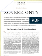 Krasner, Sovereignty