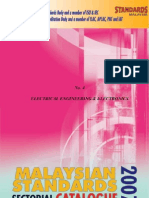 Malaysian Standards (4-Electrical Engineering)