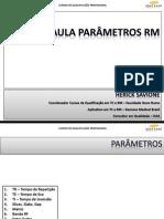 Tecnologia RM -  Parâmetros