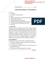 Financial Accounting part I