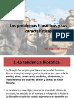 Los problemas filosóficos y sus características (opcional)