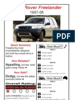 Freelander Workshop Manual (2001+) | Piston | Throttle