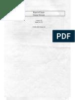 Grand Theft Auto Design Document