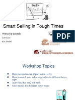 Smart Selling in Tough Times, Presentation