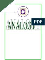 Analogy Prepration for GMAT & Sat