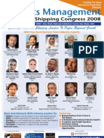 Ports Management And Shipping Congress 2008