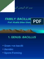 Lectures 8-11-Bacillus anthracis; B. cereus, Clostridium perfringens, Cl. tetani; Cl. botulinum; Cl. difficile
