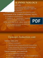 TUMOUR IMMUNOLOGY