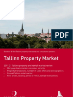 Tallinn Real Estate and Rental Market Review Q1 2011