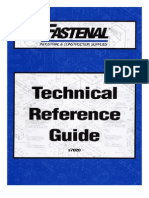 Technical Reference Guide Fastenal K Factor and More