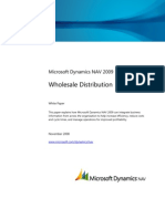 Wholesale Distribution in Microsoft Dynamics NAV