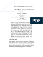 Knowledge based Replica Management in Data Grid Computation