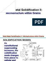 Weld Metal Solidification-2-Microstructure Within Grains[1]