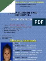 Caso de Ortodoncia sin Rx