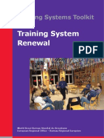 Training Systems Toolkit