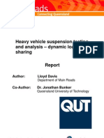 Heavy Vehicle Suspension and Od Damage