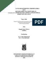 Thesis Singgih Undergraduate - Perhitungan Karakteristik Aerodinamika , Dinamika Dan Kestabilan Roket RX 250 LAPAN