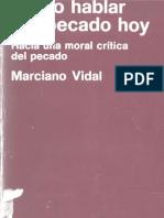 Vidal, Marciano-Como Hablar Del Pecado Hoy