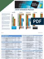 MMS2010-SchedulePlanner