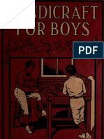 eBook Crafts - Handicrafts for Boys - Collins, A Frederick 346 Pg English Vintage Woodwork,Metalwork,Glasswork,More