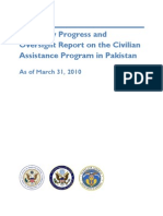 Pakistan Quarterly Report as of March 31 2010