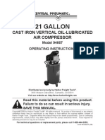 21 HP Air Compressor