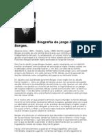 Biografía de jorge luís Borges