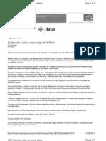CBC Stelmach Weighs Into Debate Article