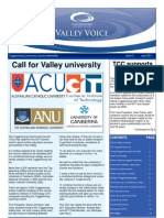 Valley Voice Issue 3 - April 2011