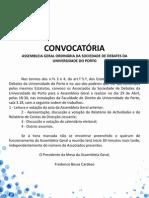 Convocatória AG