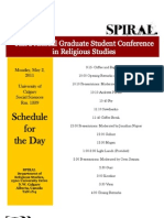 SPIRAL 2011 Conference Schedule