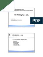 Introducao SQL