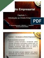 Capítulo I - Introdução ao Direito Empresarial_2009