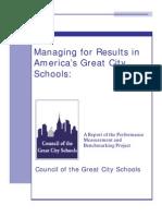 CGCS KPI Report