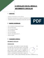 Mov Circular Informe