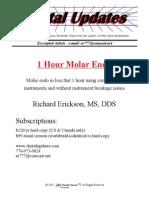 1 Hour Molar Endo