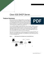 3600 Cisco IOS DHCP Server