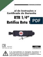 0703 400 014 - RTR 1.4- Retífica Reta 1.4