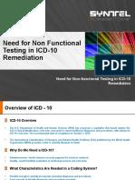 Non Functional Testing - ICD-10_Preetha