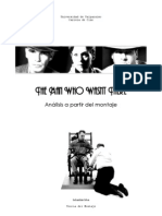 The man who wasn´t there - analisis teoría del montaje