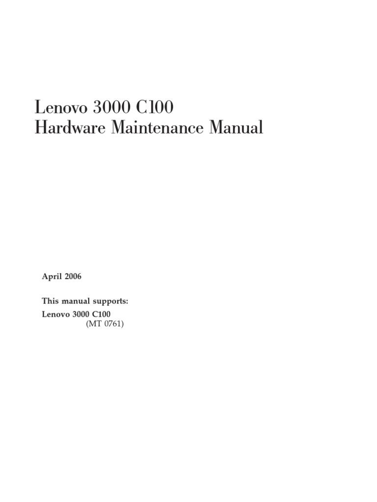 3000 drivers notebook lenovo c100