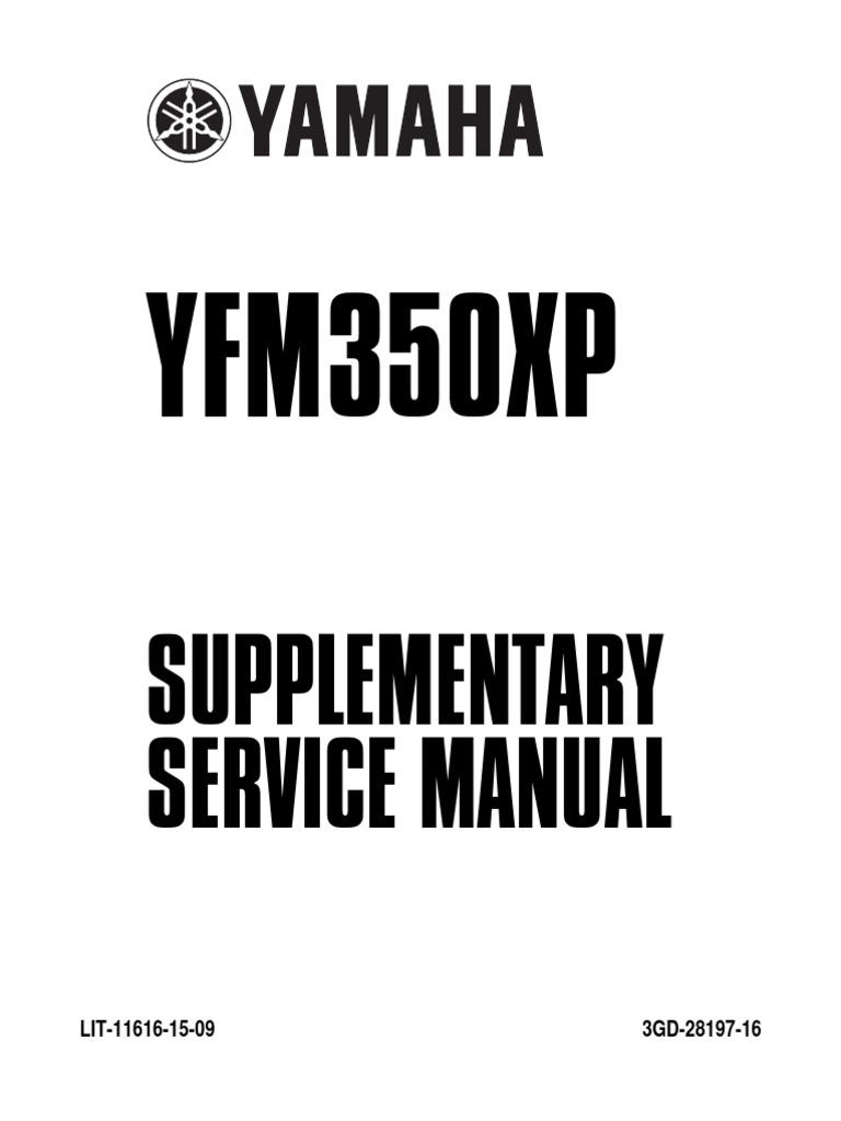 Yamaha Warrior 350 | Ignition System | Switch