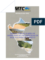 MANUAL PARA EL DISEÑO DE CARRETERAS NO PAVIMENTADAS DE BAJO VOLUMEN DE TRÁNSITO