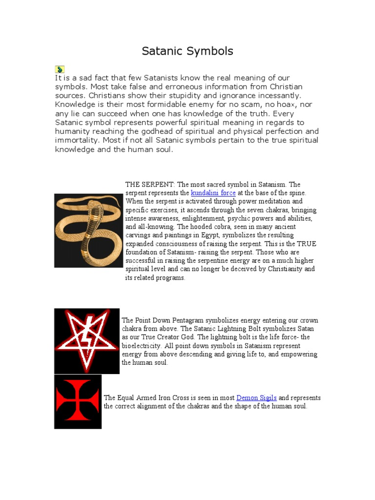 Satanic symbols satanism magic paranormal buycottarizona Image collections