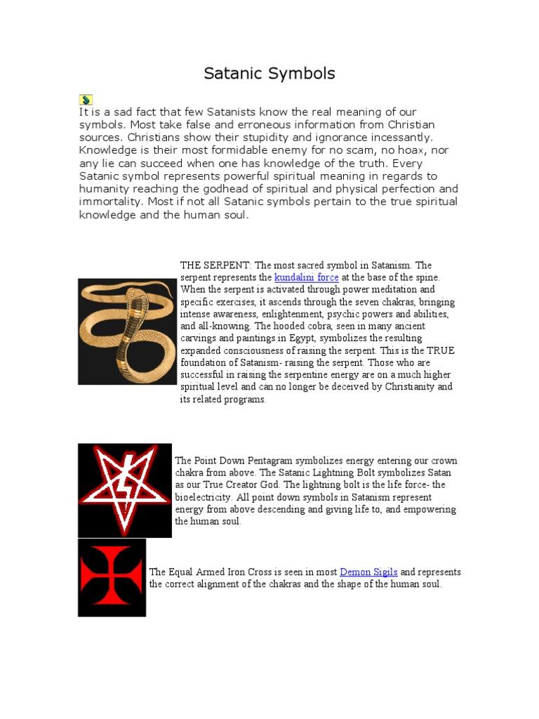 Satanic Symbols Satanism Magic Paranormal