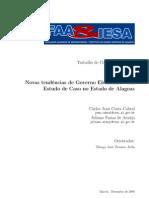 TCC - Novas tendências de Governo Eletrônico Um Estudo de Caso no Estado de Alagoas