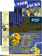 Junior Jacks Newsletter - Nov. '10