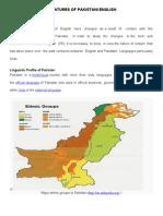 Feaatures of Pakistani English